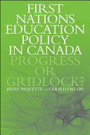 First Nations Education Policy in Canada
