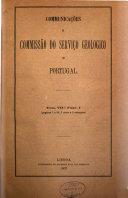 Comunicações dos Serviços Geológicos de Portugal