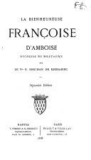 La bienheureuse Françoise d'Amboise