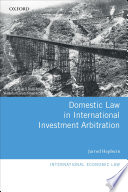 Domestic Law in International Investment Arbitration Pdf/ePub eBook