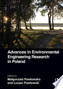 Advances in Environmental Engineering Research in Poland