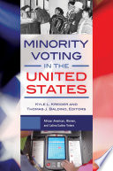 Minority Voting in the United States  2 volumes