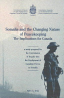 Somalia and the Changing Nature of Peacekeeping