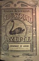 The Western Australian Industrial Gazette