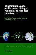 Pdf Conceptual Ecology and Invasion Biology: Reciprocal Approaches to Nature