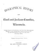 Biographical History of Clark and Jackson Counties, Wisconsin.epub