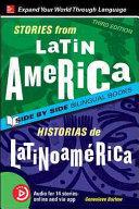 Stories from Latin America   Historias de Latinoam  rica  Premium Third Edition Book