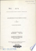 Some Observations On The Basic Chemistry Of Plutonium Book PDF