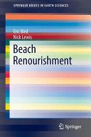 Beach Renourishment Book PDF