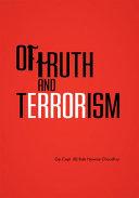 Of Truth and Terrorism Pdf/ePub eBook