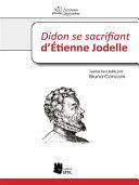 Pdf Didon se sacrifiant d'Étienne Jodelle Telecharger
