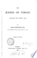 The   neid of Virgil Translated Into English Verse by J  Conington     Third Edition Book