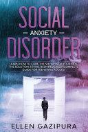 Social Anxiety Disorder Book PDF