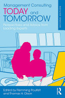 Management Consulting Today and Tomorrow Pdf/ePub eBook
