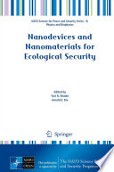 Nanodevices and Nanomaterials for Ecological Security Book