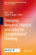 Emerging Research, Practice, and Policy on Computational Thinking Pdf/ePub eBook