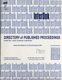 Directory of Published Proceedings
