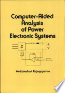 Computer Aided Analysis of Power Electronic Systems Book