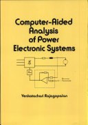 Computer Aided Analysis of Power Electronic Systems