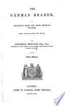 The German Reader Third Edition