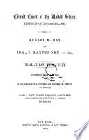 Horace H Day Vs Isaac Hartshorn Et Al