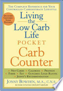 Living the Low Carb Life Pocket Carb Counter