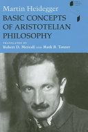 Basic Concepts of Aristotelian Philosophy Book
