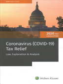 Coronavirus  Covid 19  Tax Relief   Law  Explanation   Analysis