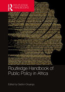 Routledge Handbook Of Public Policy In Africa