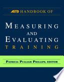ASTD Handbook for Measuring and Evaluating Training