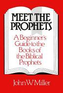 Meet the Prophets Pdf/ePub eBook