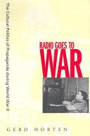 Radio Goes to War Pdf/ePub eBook
