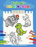 Animals Coloring Book  Kids Coloring Activity Books