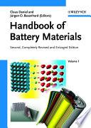 Handbook of Battery Materials Book