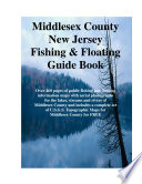Middlesex County New Jersey Fishing   Floating Guide Book