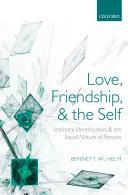 Love, Friendship, and the Self Pdf/ePub eBook
