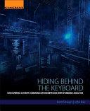 Hiding Behind the Keyboard