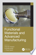 Functional Materials and Advanced Manufacturing Book