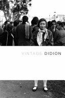 Vintage Didion Book PDF