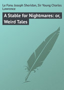 A Stable for Nightmares: or, Weird Tales [Pdf/ePub] eBook