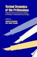 Textual Dynamics of the Professions
