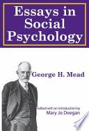Essays in Social Psychology