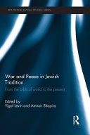 Pdf War and Peace in Jewish Tradition Telecharger
