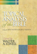 Topical Analysis Of The Bible