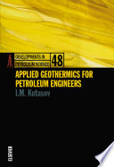 Applied Geothermics for Petroleum Engineers Book