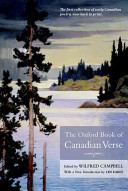 The Oxford Book of Canadian Verse