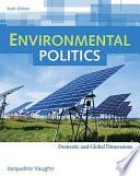 Environmental Politics: Domestic and Global Dimensions Pdf/ePub eBook