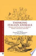 Thinking Italian Animals Book PDF