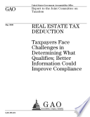 Real Estate Tax Deduction