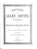 History of Allen County  Indiana